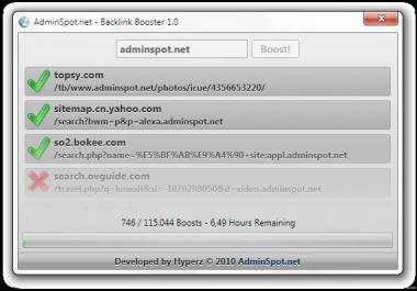 Backlink Booster 115000+backlinks (adds backlinks and gets you ranked or ranked better on google)