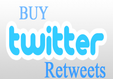 give you 1000 retweets or favorites from profile Very... for $1
