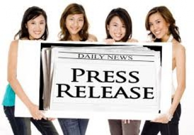 submit your press release to 40 high PR distribution network including PRBuzz..