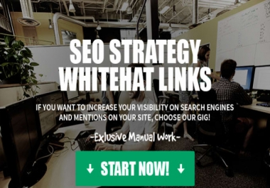 Google Influencing Rocket Your SEO Ranking manual SEO strategy with whitehat links for 30 days it is designed to boost your rankings for any Website, Blog or Video.