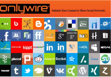 do OnlyWire Account Creation And Full Setup Services MANUALLY Within 24 Hours