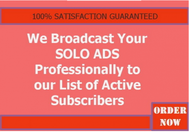broadcast Your Ads and Get Traffic