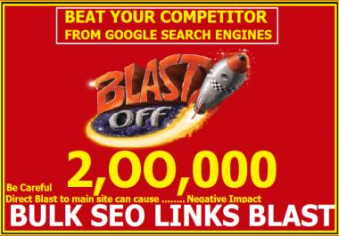 I will build Exclusive Seo Link 2018 v1  made 200,000 Gsa ser bulk, backlinks, blast for seo