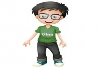 Give You Real & Permanent Human Verified 500 High Quality Active Vine Likes, only