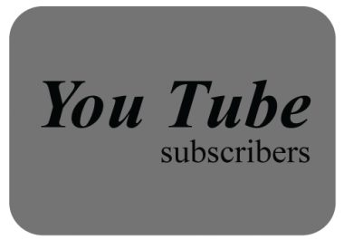 NON DROP 125 Youtube Subscribers  Only  24-48 Hour