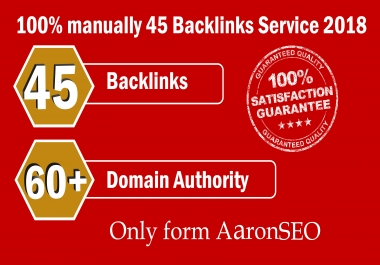 Limited Time- 45 Backlinks from High DA-60+ Domains-Skyrocket your Google RANKINGS NOW