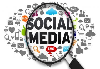 Social media marketing - Any social netowrk of your choice