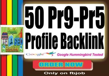 Manually 40 PR8-PR5 and 10 PR9 Paul Angela High Authority Quality Profile Backlink SEO Technique2015