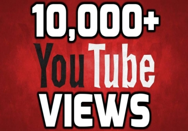 Provide 10000-11000 Safe YouTube Views 24-36 hours