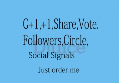 Real Phone Verified USA 200+ Google Plus Vote To Any Website only