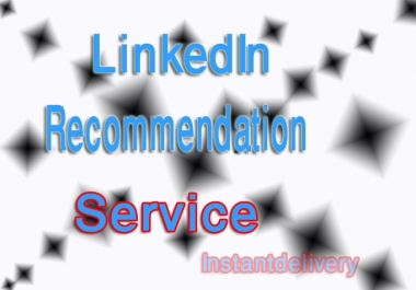 give you 5 RECOMMENDATION on LinkedIn