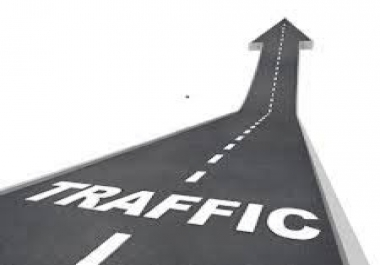 90 Days unlimited traffic, genuine targeted and real, make real money..