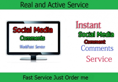 provide 30+ Permanent Comments within 6 Hours only