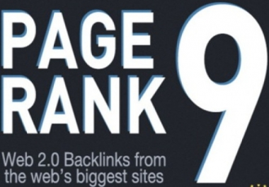 create PR9 Panda,Penguin and Hummingbird safe backlinks from 10 AUTHORITY Sites ##