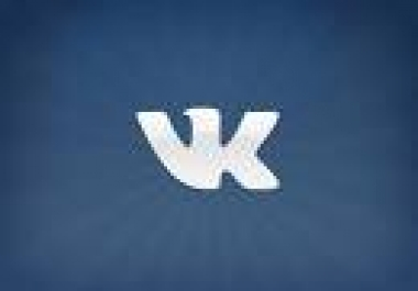 Provide you 100 + Vkontakte Likes only