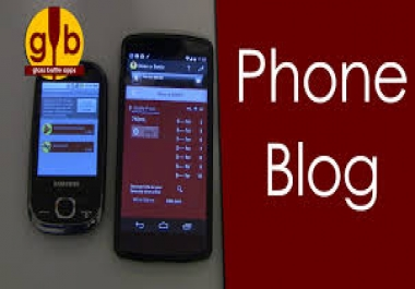 write and guest post on my mobile phones  blog...