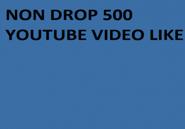 Instant 1000+ Real Youtube Video like with 24 hours