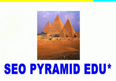 Fully NEW - I will create SEO Backlinks Pyramid Dofollow .EDU