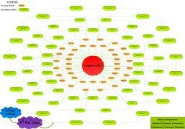 do seo link wheel pyramid to website blog or youtube to rank on google..
