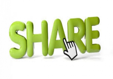 deliver 400 social shares from the top 3 networks drip Feed Over 5 Days..