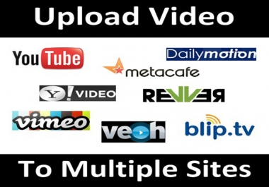 50 Manual Video submission in 50 PR9 Websites with Detailed report