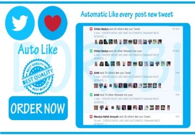 Add automatic Twitter Likes