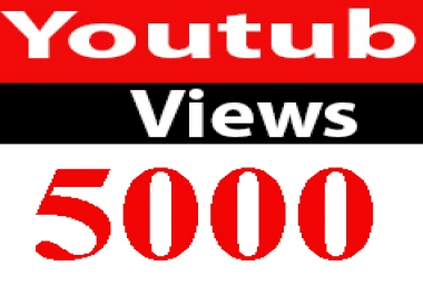 instantly 5000+ High Retention Youtube Views