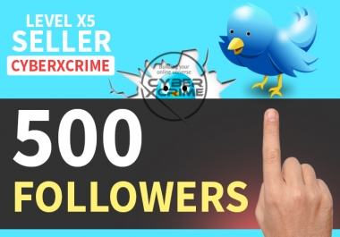 get you 500+ HQ TW followers in less then 24 hours