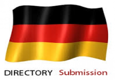provide 20 German directory submission services...