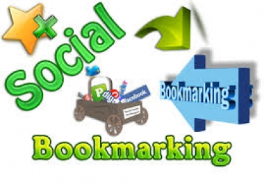 manually post your site to social bookmarking 150 sites...
