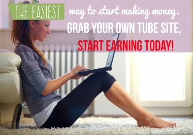 MAKE MONEY with a COMPLETELY AUTOPILOT tube site in ANY subject