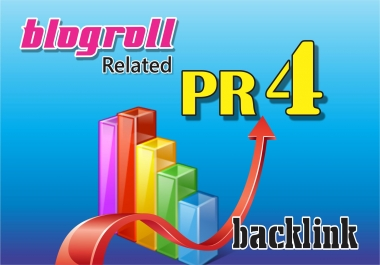 I give you backlink 30x DA20+ blogroll different IPs