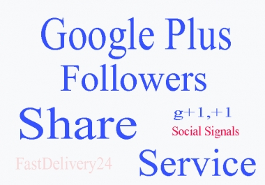 I will add 300 google plus,circle, Vote To Any website
