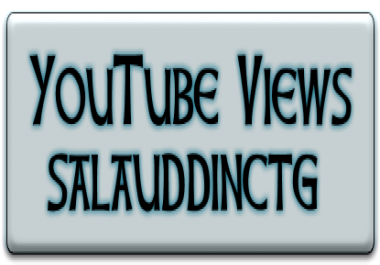 Provide Fast High Quality 3500-4000 Youtube Views your track  only for