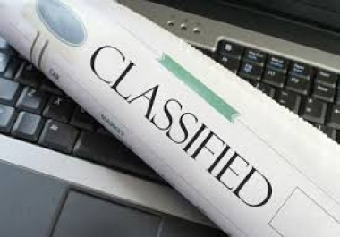 submit your classified ads to 100k high traffic advertising sites within 24 Hours...