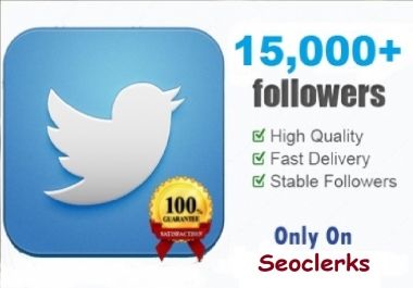 5000+ High Quality Twitter service