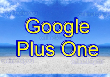 100 GOOGLE PLUS VOTES TO BOOST WEBSITE SEO RANK for $1