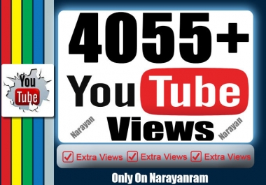 4000 YouTube Views Non Drops high retention