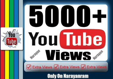 5000+ YouTube Views Non Drops high retention