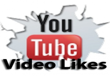 get you 50+ GURANTEED youtube video likes in  24 hour... for $1
