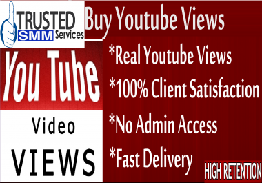 4000 YOU TUBE VIDEO VIEWS HQ NON DROOP LIFETIME GUARANTY RANDOM RETENTION 10 LIKES PROMOTION SERVICES