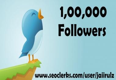 provide 25000 Twitter Followers