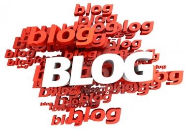 Custo order for 4 blog links
