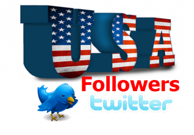 105+ Real, Active & Human Verified USA or Targeted Country Twitter Followers