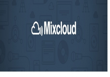 Add Fast 120 Real Mixcloud Followers to Your Profile.