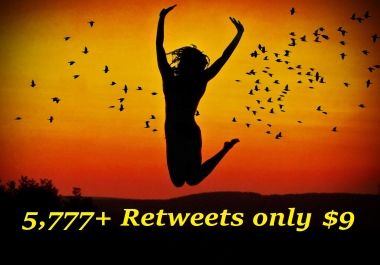 Get 5,555+ Twitter RT or Likes