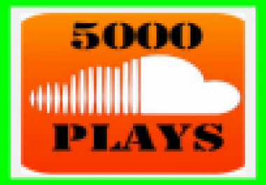 Add 1,000 Soundcloud plays in your selected track just 2... for $1