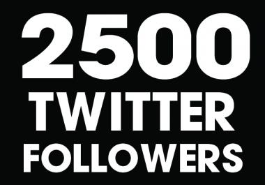 add 2500 worldwide twitter followers