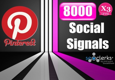 8000 PR9 Pinterest Permanent Social Signals Share For Affiliate Marketing & Business Promotion Help To Increase SEO Website Traffic & Share Bookmarks Important Google Ranking Factors
