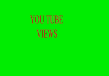 Get 1000 Real and Permanent  High Retention youtube viewsin 24-48 hours